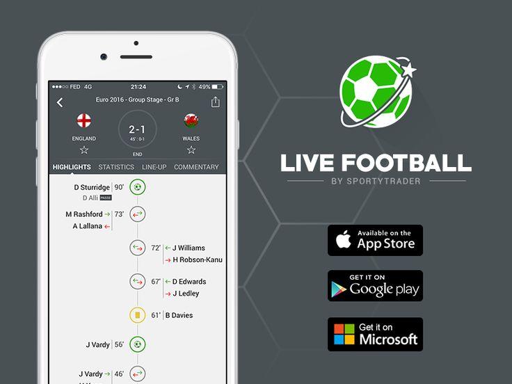 Live Football the best football live score app ! by Vivien Bocquelet