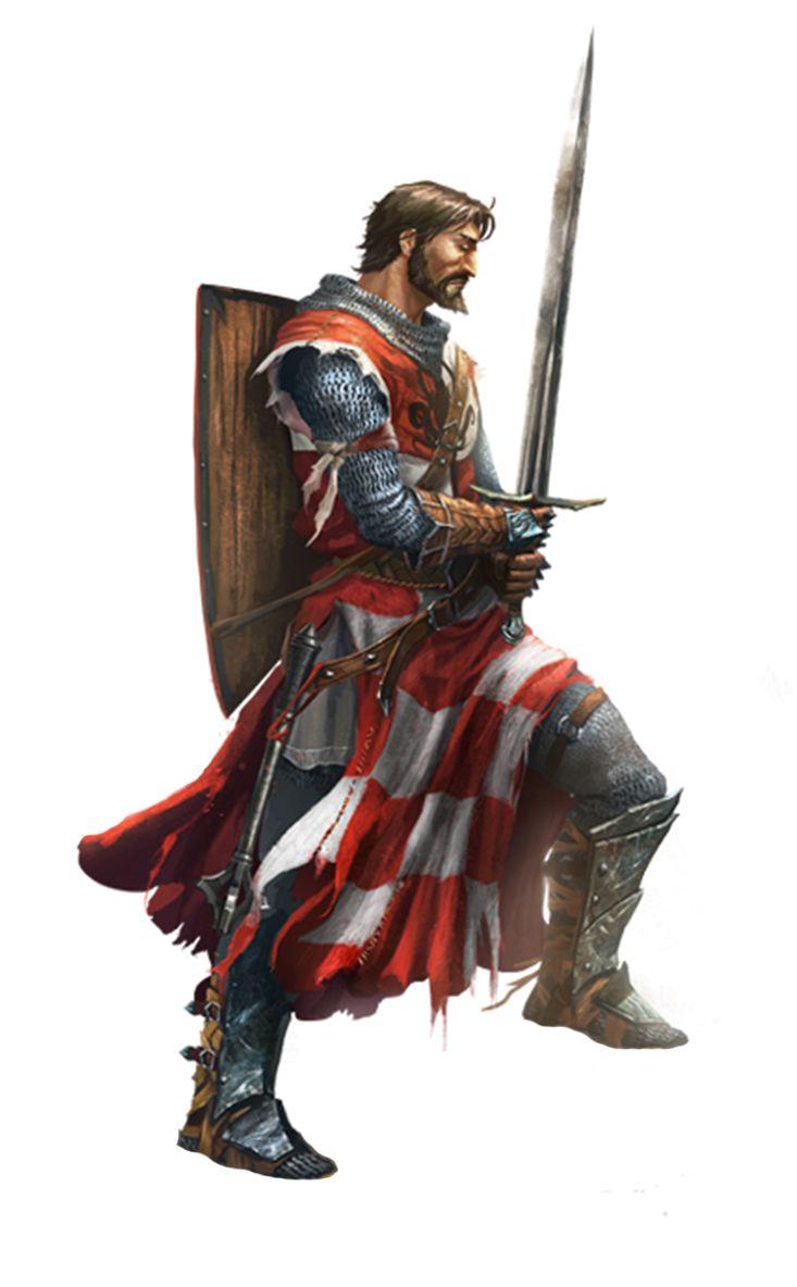 Paladin knight - Pathfinder PFRPG DND D&D d20 fantasy ...