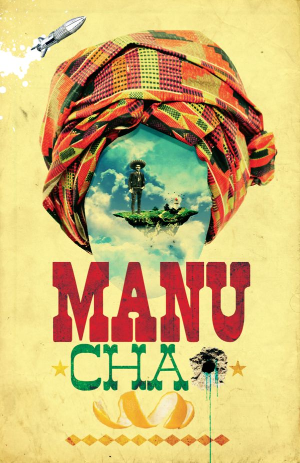 Incredible poster of Manu Chao