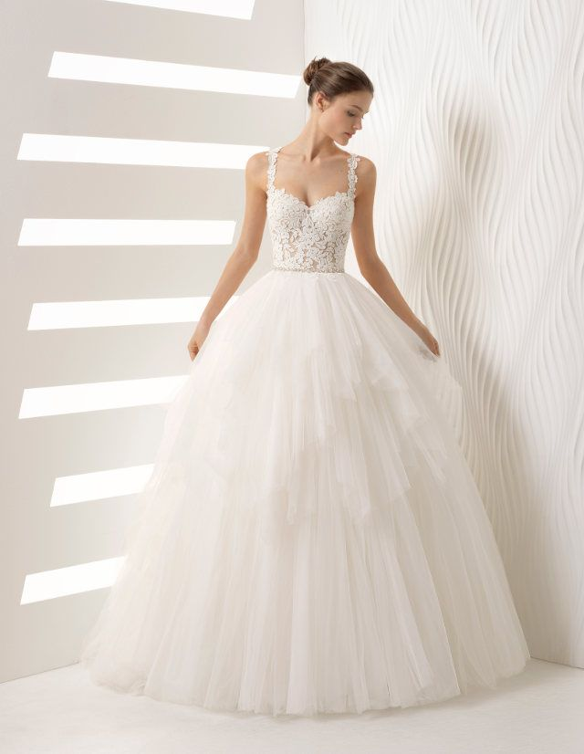88 best prinzessin brautkleid images on pinterest bridal dresses bridal gowns and brides - Brautkleid rosa clara ...