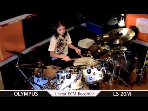 NEW !19 Days Gavin Harrison drum cover by Igor Falecki (11 y old)