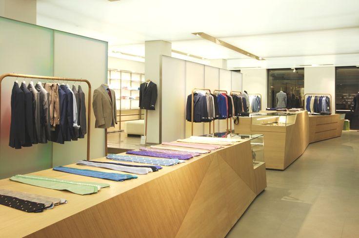 Дизайн интерьера бутика Richard James в Лондоне