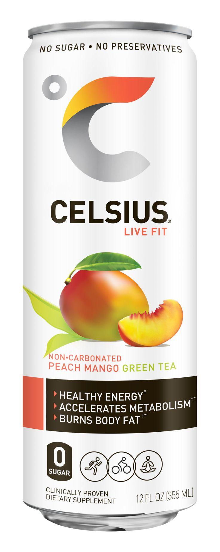 Celsius Healthy Energy Beverage (With images) Energy