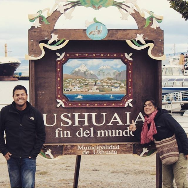 Y llegamos al fin del mundo. Después de un recorrido de más de 15 mil kilometros, atravezando 6 paises, acampando más de 50 noches... Ushuaia es la ciudad más austral del mundo!  #viajar #argentina #patagonia #findelmundoargentina #ushuaia