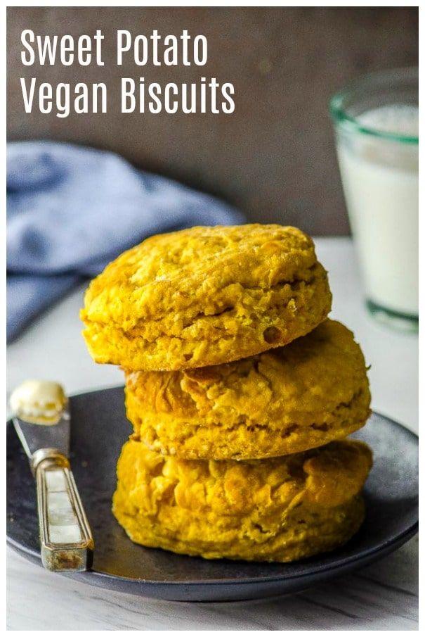 Sweet Potato Vegan Biscuits