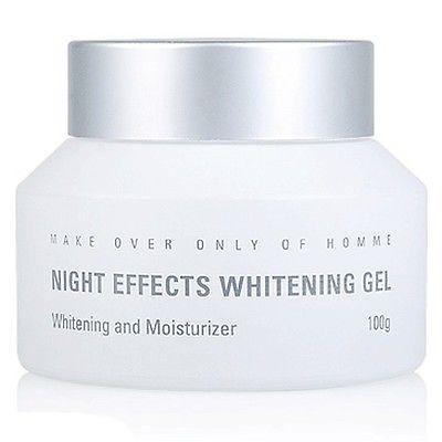 [AllbyAnn] MdoC Men's Night Whitening Gel Lightening Moisturizer 100g Free Gift