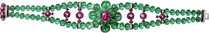 platinum, ruby, emerald, onyx, diamonds