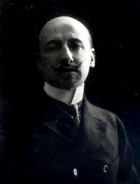 Gabriele d'Annunzio (foto Mario Nunes Vais)