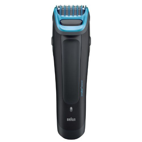 Braun Beard and Head Trimmer with UltraSharp Stainless Steel Trimming Element with 6 Adjustable Beard Comb Lengths Features a Dual Battery System with World Wide Voltage and LED Indicator Fully Washable >>> To view further for this item, visit the image link.