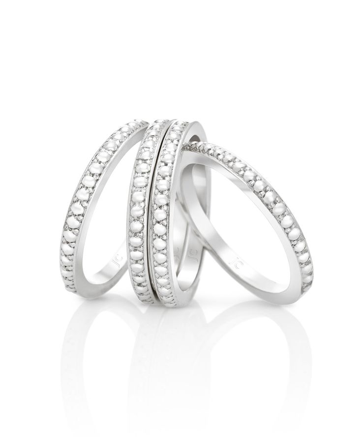 Jenna Clifford Designs | Specials › Jenna's Best Buys  Mastercrafted in argentium silver (960) with a beaded design < R2000