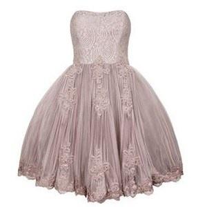 The pretty dress