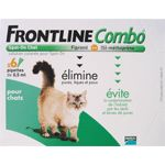 Acheter Anti puces Frontline Combo Chat 6 pipettes moins cher - 28,51 € livré