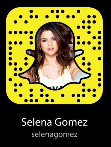 Selena Gomez Snapchat Username & Snapcode  #selenagomez #snapchat http://gazettereview.com/2017/07/selena-gomez-snapchat-username-snapcode/