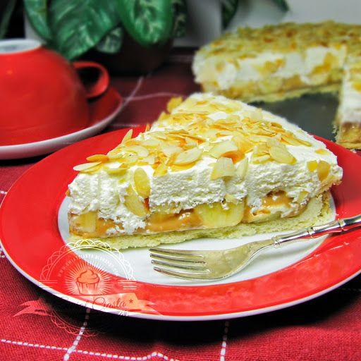 Tarta z karmelem i bananami   Świat Ciasta
