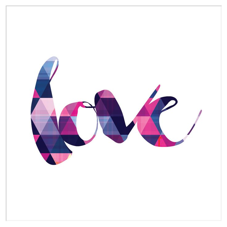 Deluxe Living - 'Love - Geometric Triangles' Typography Ready to Frame Print, $24.95 (http://www.deluxeliving.com.au/love-geometric-triangles-typography-ready-to-frame-print/)