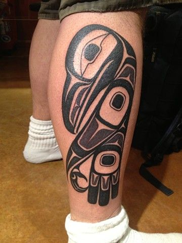 Haida Raven by Coastline Tattoo