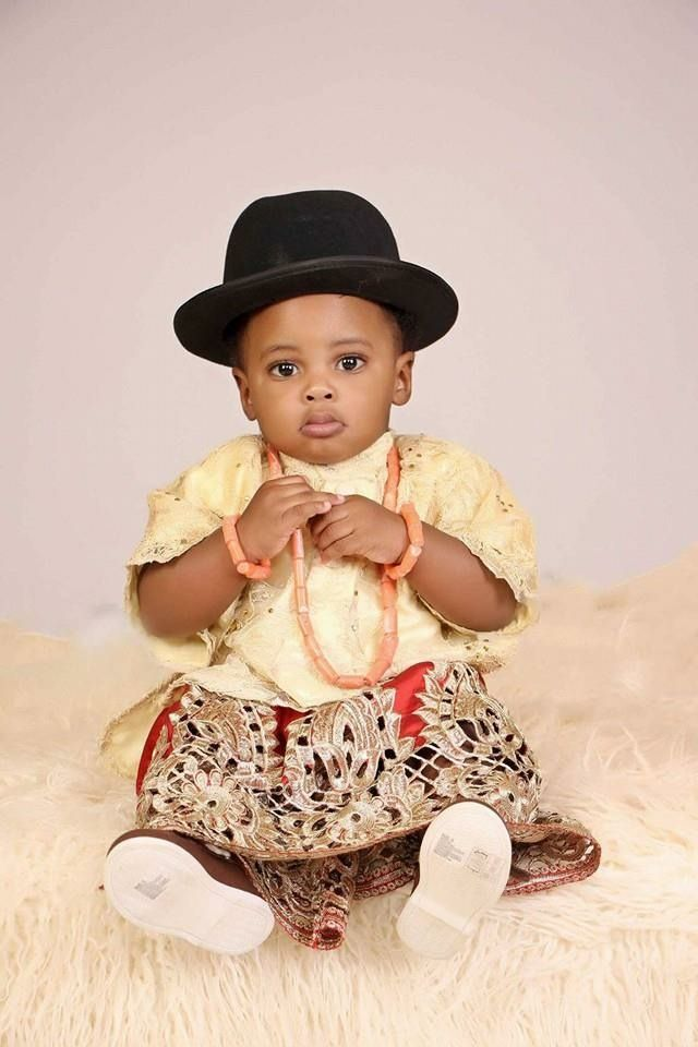 Baby Boy Nursery: Super Duper Cute!! Edo Traditional Wear Nigerian Baby Boy