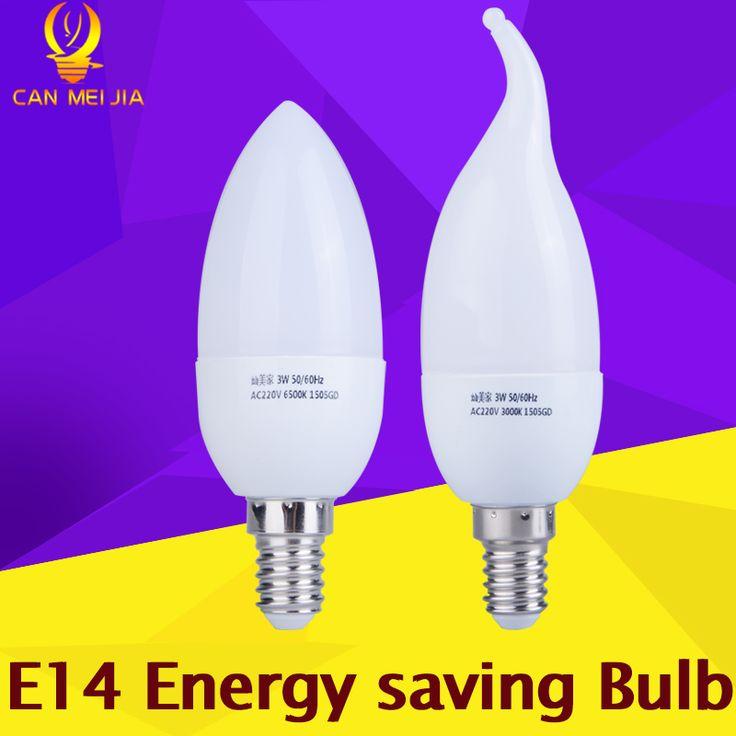 New Year E14 Led Candle Light Bulb 220V Energy Saving Bulb Lamp  E14 LED Bombilla Decorativas Led Lamp for Home 3W 5W Cool White