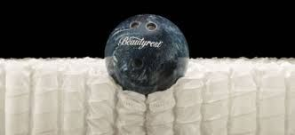 The original bowling ball was used to demonstrate that even though a object as heavy as a bowling ball can fall next to you, with the Simmons Pocketed Coils ™ it will be of no disturbance to the person sleeping next to you