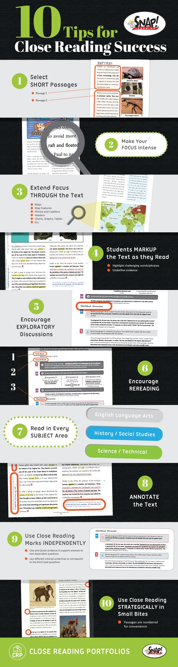 If you are looking for a way to take your student's comprehension to a whole new level in any subject area, Close Reading is just the strategy for you!