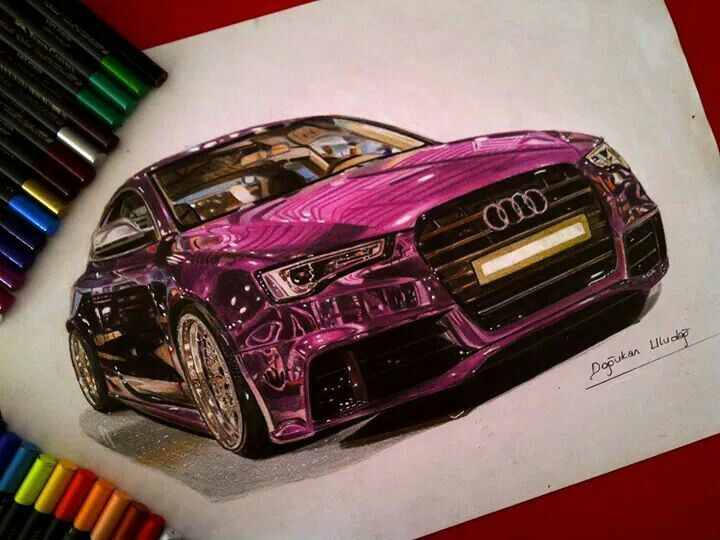 amazing drawing of a sports car drawings pinterest cars drawings and amazing drawings. Black Bedroom Furniture Sets. Home Design Ideas