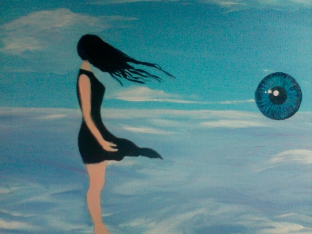 Exposure; acrylic on canvas