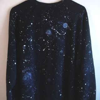 space/nebula sweater. #grunge #fashion