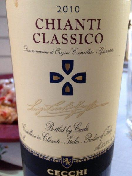 Wine and Dine: Cecchi Chianti Classico 2010 and Delicious with this recipe for Vegetable Lasagna - http://www.grape-experiences.com/2014/08/wine-dine-cecchi-chianti-classico-vegetable-lasagna/