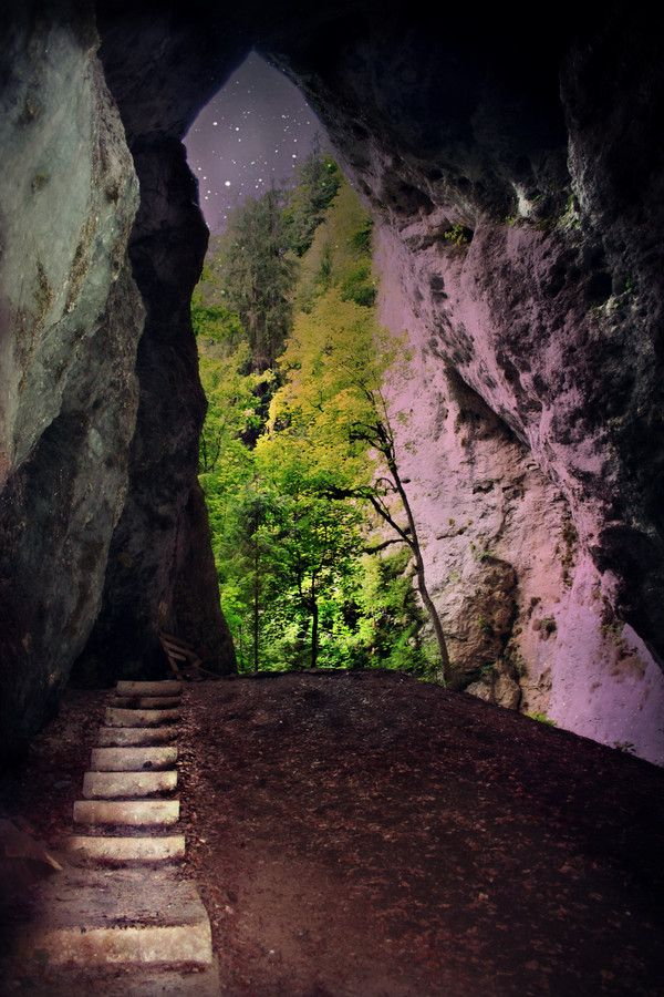 """Ionele"" Cave in Romania by Silvana Retter"