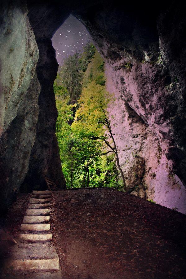 """""""Ionele"""" Cave in Romania by Silvana Retter"""