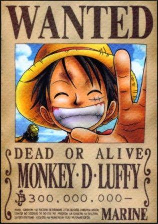 Tổng Hợp Các Lệnh Truy Nã (Bounty) Hải Tặc Trong One Piece