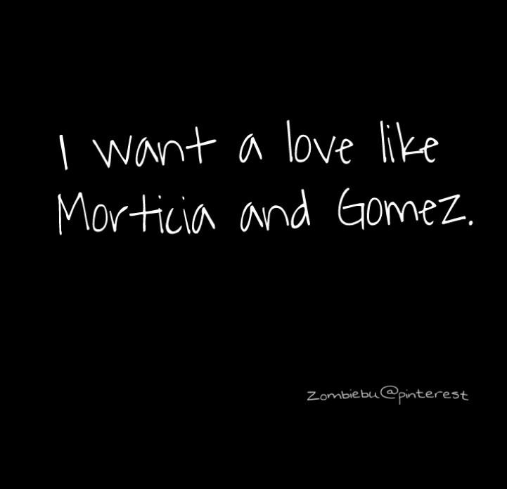 morticia and gomez addams relationship