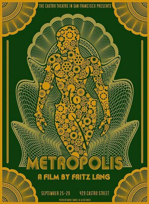 Metropolis. Cool poster I've never seen this
