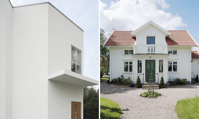 Bildresultat för rött vitt hus