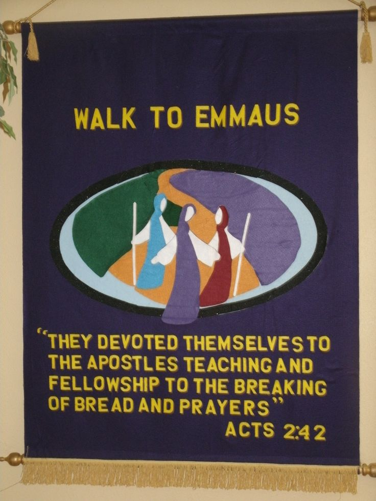 13 best images about Emmaus Walk on Pinterest