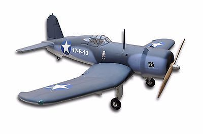 """Price - $1,189.00. F-4U 94''/2397Mm 100CC  Remote Control Fiber Glass Fuselage RC Airplane US Stock ( Brand - FLIGHT, MPN - Does not apply, Fuel Source - Gasoline, Year - 2016, Type - Airplane, Wing span: - 2397mm/94'', Length: - 50.95""""/1294mm, Engine: - 80-100CC gas, Radio: - 6Channels 8-12Servos, UPC - Does not apply, Flying Weight - 11-15kg, Quantity - 1, Compatible Fuel Type - Gasoline    )"""