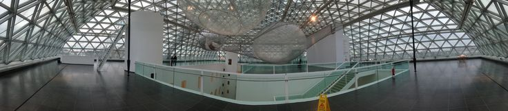 K21 KunstSammlung NRW - top floor installation : Tomás Saraceno