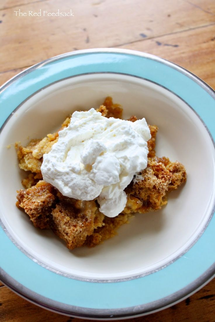 The Red Feedsack: Pumpkin Bread Pudding (with Candy Roaster Pumpkin/Squash)!