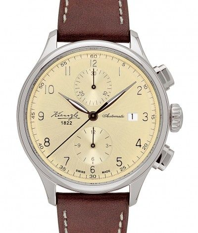 Kienzle | Mechanik Herrenarmbanduhr | Steel | Watch database watchtime.com $1,333