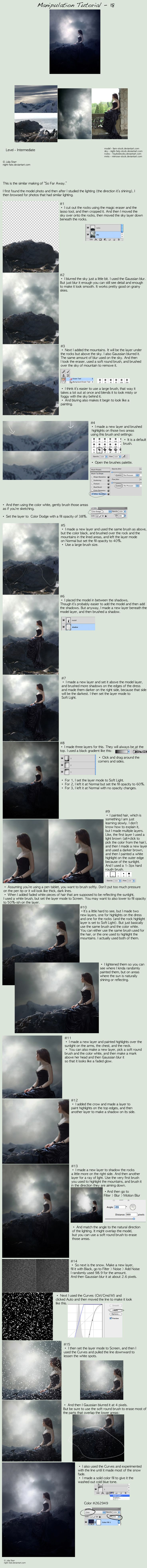 This is a great tutorial.   So beautifully done!  Manipulation tutorial - 18 by `night-fate