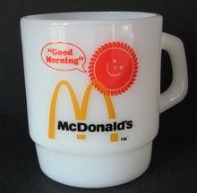 Vintage McDonald's Coffee Cup