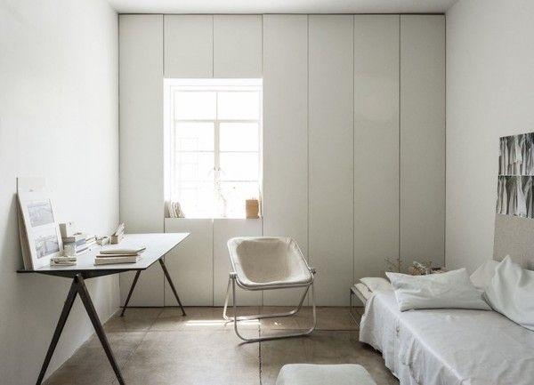 minimalist guest room in LA; emmas designblogg