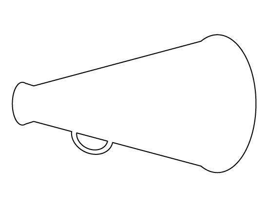 megaphone coloring pages - photo#9
