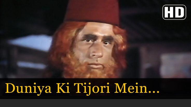 Duniya Ki Tijori Mein - Kanhaiya Songs - Naseeruddin Shah - Mohammed Rafi