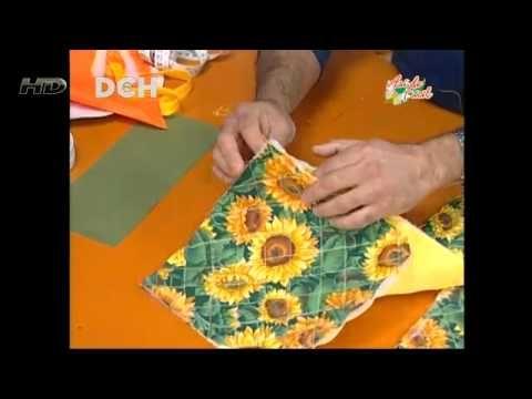 7º Clase Vistiendo la cocina: guante y toma-ollas - YouTube