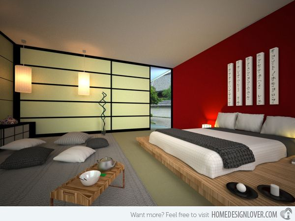 embrace culture with these 15 lovely japanese bedroom designs - Japanese Design Bedroom