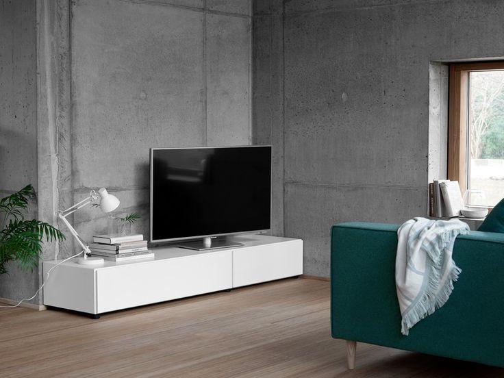 Lugano Designer TV Unit - White