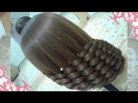 peinados recogidos faciles para cabello largo bonitos y rapidos con trenzas para niña para fiestas74 - YouTube