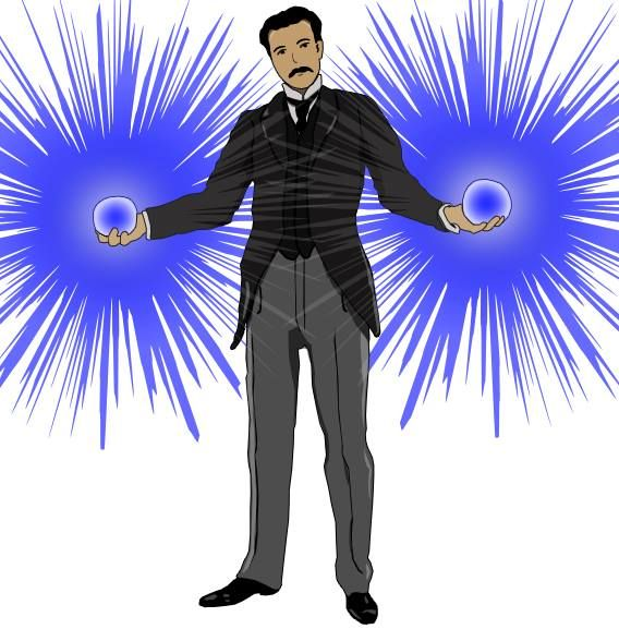 The infamous #NikolaTesla #inventor #genius #edison #GoodnessGraciousGreatBallsOfElectricity *Please credit if using*