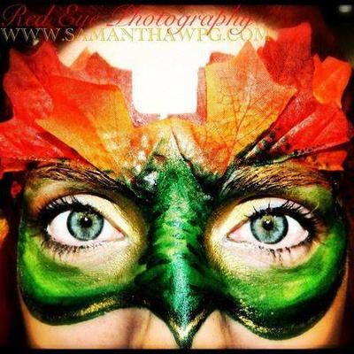 Mask (Click on smaller images to Enlarge) Winnipeg, Manitoba, Canada Visual Eye Candy  SamanthaWpg  (Samantha Ann Christianson)   I've been professional body painter. Make up Artist. Photographer